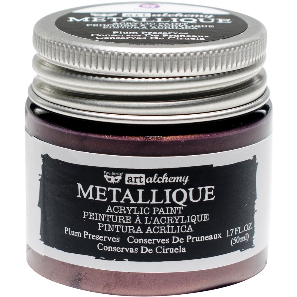 PRIMA ACRYLIC PAINT METALLIQUE PLUM PRESERVES (HAS TO BE ORDERED)