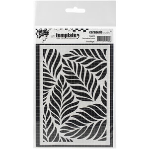 CARABELLE TEMPLATE STENCIL A6 FOLIAGE (IN STOCK)