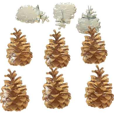 EYELET OUTLET BRADS PINECONE (HAS TO BE ORDERED)
