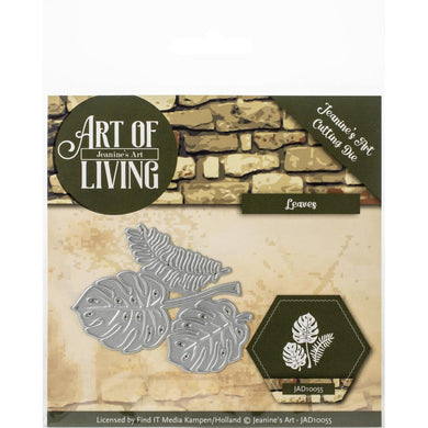 FIND IT TRADING JEANINE'S ART METAL DIE CUT ART OF LIVING LEAVES (IN STOCK)