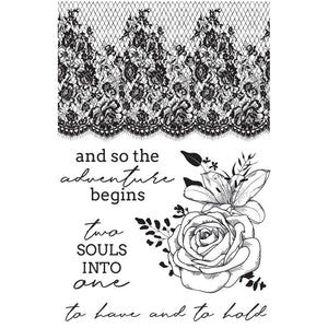 "BLACK FRIDAY SALE KAISERCRAFT CLEAR STAMPS ""TWO SOULS"" (CLEARANCE)"