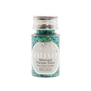 NUVO PURE SHEEN CONFETTI STAR MERMAID PARADE (IN STOCK)