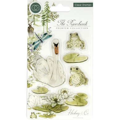 CRAFT CONSORTIUM THE RIVERBANK CLEAR STAMPS (IN STOCK)