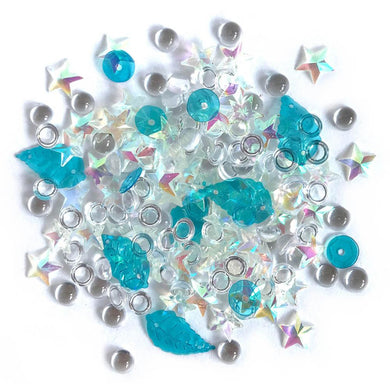 BUTTONS GALORE SPARKLETZ EMBELLISHMENTS SALT WATER (HAS TO BE ORDERED)