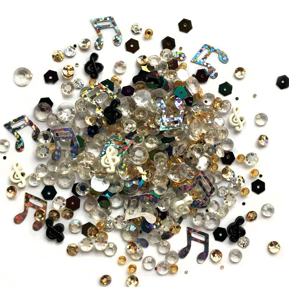 BUTTONS GALORE SPARKLETZ EMBELLISHMENTS CONCERTO (HAS TO BE ORDERED)