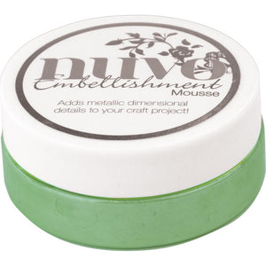 NUVO EMBELLISHMENT EMBOSSING TEXTURE MOUSSE ALOE VERA (CLEARANCE)