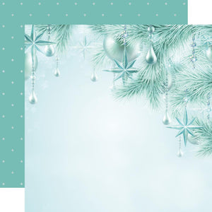 "KAISERCRAFT LET IT SNOW (1) SHEET 12""X12"" O'CHRISTMAS TREE (CLEARANCE)"