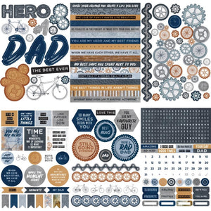 KAISERCRAFT WORKSHOP STICKER BOOK (IN STOCK)