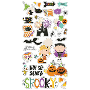 SIMPLE STORIES SAY CHEESE HALLOWEEN CHIPBOARD (CLEARANCE)