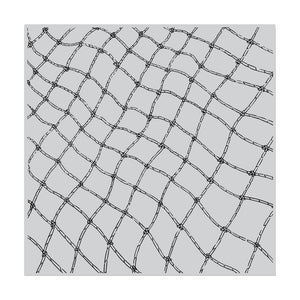 HERO ARTS CLING STAMPS FISHING NET BOLD PRINTS (HAS TO BE ORDERED)