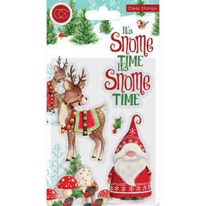 CRAFT CONSORTIUM IT'S SNOME TIME CLEAR STAMPS (IN STOCK)