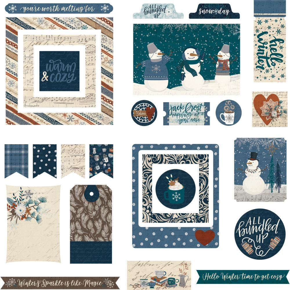 PHOTO PLAY FOR THE LOVE OF WINTER EPHEMERA DIE CUTS (IN STOCK)