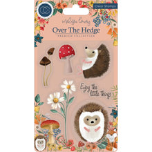 Load image into Gallery viewer, CRAFT CONSORTIUM OVER THE HEDGE CLEAR STAMPS HARRY THE HEDGEHOG (IN STOCK)