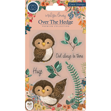 CRAFT CONSORTIUM OVER THE HEDGE CLEAR STAMPS OLIVIA THE OWL (IN STOCK)