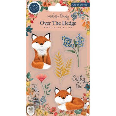 CRAFT CONSORTIUM OVER THE HEDGE CLEAR STAMPS HENRY THE FOX (IN STOCK)