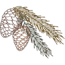 Load image into Gallery viewer, TIM HOLTZ METAL DIE CUTS THINLITS PINE BRANCH (HAS TO BE ORDERED)