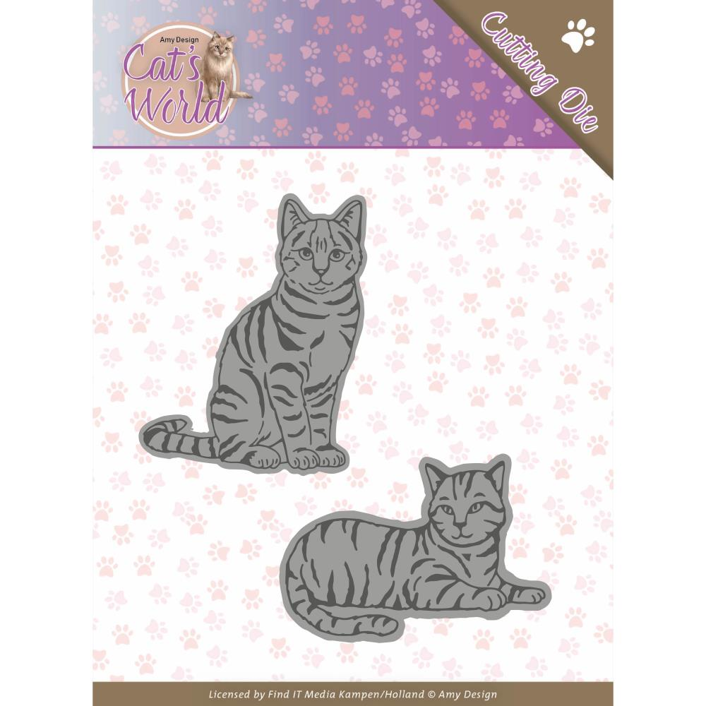FIND IT TRADING AMY DESIGN METAL DIE CUT SWEET CATS (HAS TO BE ORDERED)
