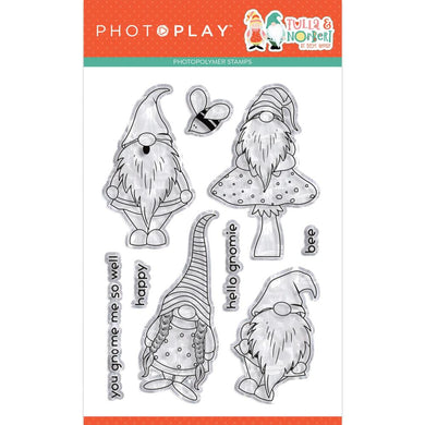 PHOTO PLAY TULLA & NORBERT CLEAR STAMPS (HAS TO BE ORDERED)