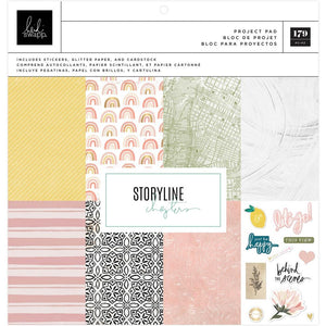 "HEIDI SWAPP STORYLINE CHAPTERS 12""X12"" PROJECT PAD (PRE-ORDER)"
