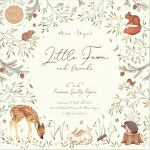 "Load image into Gallery viewer, CRAFT CONSORTIUM LITTLE FAWN 6""X6"" PAPER PAD (HAS TO BE ORDERED)"