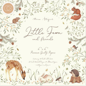 "CRAFT CONSORTIUM LITTLE FAWN 6""X6"" PAPER PAD (HAS TO BE ORDERED)"