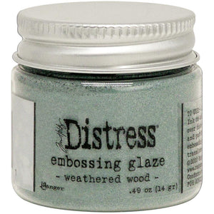 TIM HOLTZ DISTRESS EMBOSSING GLAZE WEATHERED WOOD (HAS TO BE ORDERED)