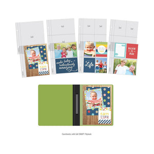 "SIMPLE STORIES SN@P REFILL POCKET PAGES FOR 6""X8"" FLIPBOOKS MULTI PACK (HAS TO BE ORDERED)"
