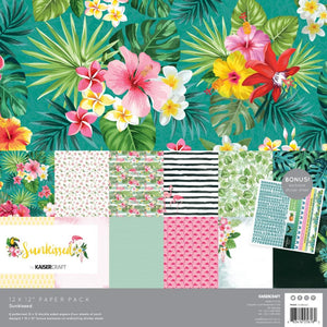"KAISERCRAFT SUNKISSED 12""X12"" COLLECTION PACK (IN STOCK)"