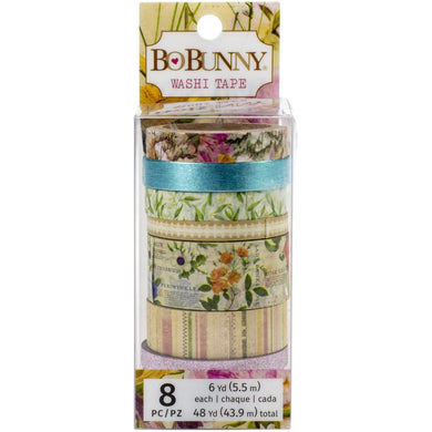 BO BUNNY BOTANICAL JOURNAL WASHI TAPE (PRE-ORDER)