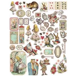 STAMPERIA ALICE DIE CUTS (HAS TO BE ORDERED)