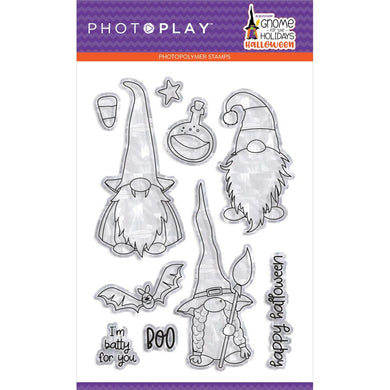 PHOTO PLAY GNOME FOR HALLOWEEN CLEAR STAMPS (IN STOCK)