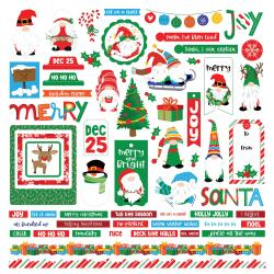 "PHOTO PLAY GNOME FOR CHRISTMAS 12""X12"" STICKER SHEET (IN STOCK)"