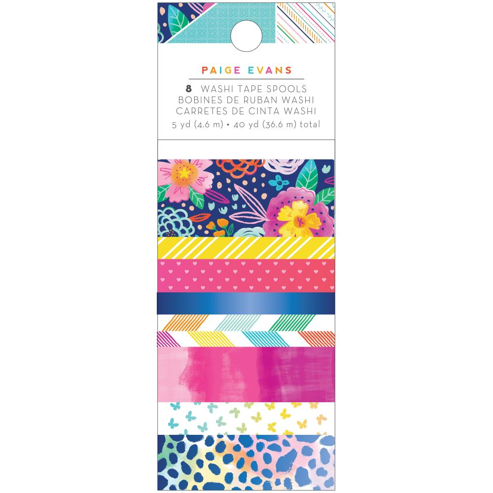 AMERICAN CRAFTS PAIGE EVANS GO THE SCENIC ROUTE WASHI TAPE (PRE-ORDER)