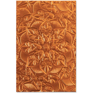 "SIZZIX 3D EMBOSSING FOLDER ""FLORAL MANDALA"" (IN STOCK)"