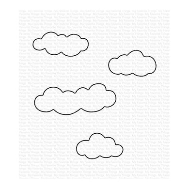 MY FAVORITE THINGS METAL DIE CUT PETITE CLOUDS (HAS TO BE ORDERED)