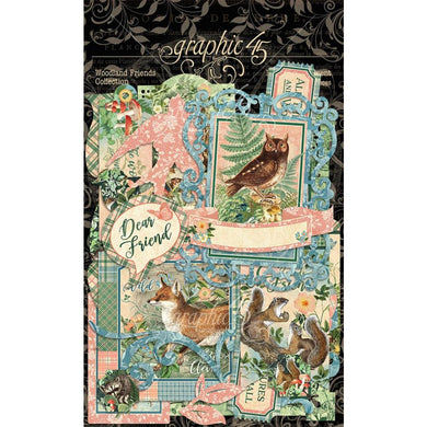 GRAPHIC 45 WOODLAND FRIENDS EPHEMERA (PRE-ORDER)