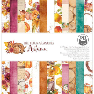 "P13 THE FOUR SEASONS- AUTUMN 12""X12"" PAPER PAD (IN STOCK)"