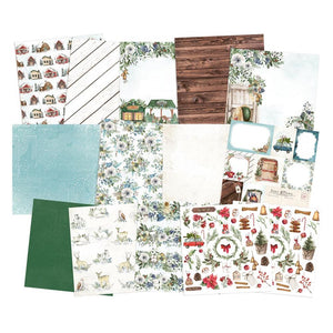 "P13 THE FOUR SEASONS- WINTER 12""X12"" PAPER PAD (IN STOCK)"