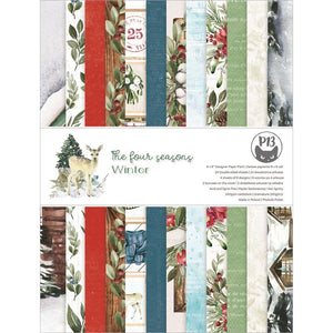 "P13 THE FOUR SEASONS- WINTER 6""X8"" PAPER PAD (IN STOCK)"