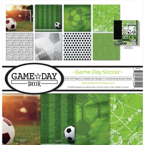 "REMINISCE 12""X12"" COLLECTION PACK GAME DAY SOCCER (PRE-ORDER)"