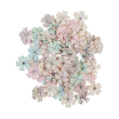 PRIMA SUGAR COOKIE MULBERRY PAPER FLOWERS WHITE CHRISTMAS (IN STOCK)