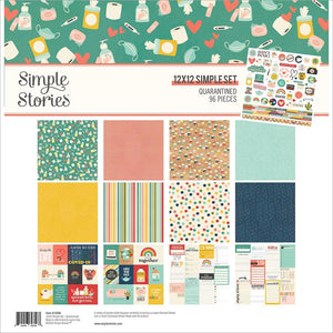"SIMPLE STORIES SIMPLE SET QUARRANTINED 12""X12"" KIT (HAS TO BE ORDERED)"