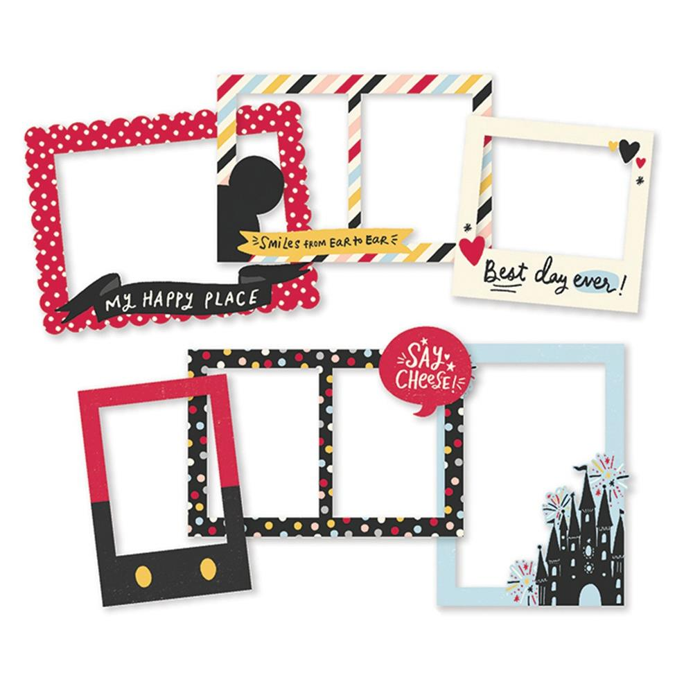 SIMPLE STORIES SAY CHEESE MAIN STREET CHIPBOARD FRAMES (HAS TO BE ORDERED)