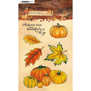 STUDIO LIGHT WONDERFUL AUTUMN CLEAR STAMPS (PRE-ORDER)