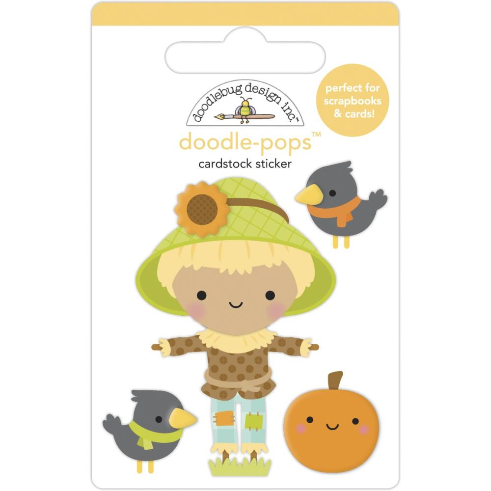 DOODLEBUG PUMPKIN SPICE DOODLE-POPS STICKERS HAY THERE (IN STOCK)