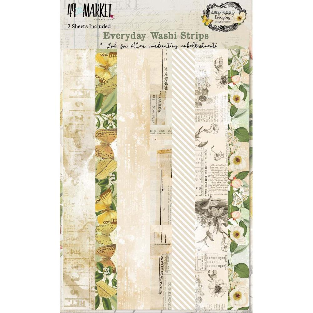 49 & MARKET VINTAGE ARTISTRY EVERYDAY WASHI TAPE (HAS TO BE ORDERED)
