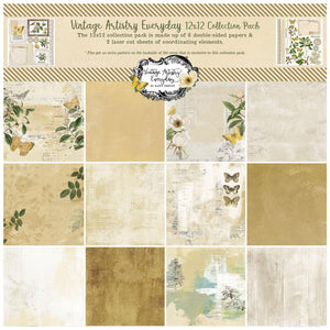 "49 & MARKET VINTAGE ARTISTRY EVERYDAY 12""X12"" COLLECTION PACK (IN STOCK)"