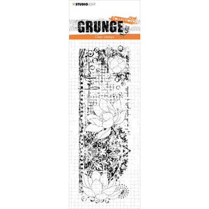 STUDIO LIGHT GRUNGE CLEAR STAMP NR.497 (HAS TO BE ORDERED)