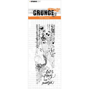 STUDIO LIGHT GRUNGE CLEAR STAMP NR.498 (HAS TO BE ORDERED)