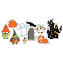 Load image into Gallery viewer, CRAFT CONSORTIUM HAPPY HAUNTING WOODEN EMBELLISHMENTS (IN STOCK)